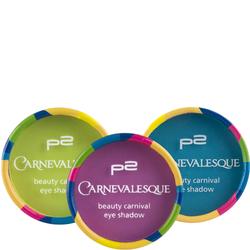 ★beauty carnival eye shadow★ Die zart-weiche Textur in drei ausdrucksstarken Farben sorgt für trendige Karneval-Looks! 2,5 g für 2,95 €