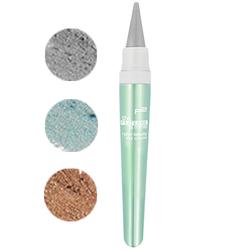 ★CYBER BEAUTY Eye Crayon★ 010 silver streak, 020 turquoise radiance und 030 bronze fusion
