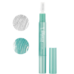 ★COSMIC FLASH Srew Mascara★ 010 crystal white und 020 lustrous turquoise