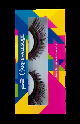 ★fake lashes masquerade★ Lasse die Augenpartie zum Blickfang werden! Die falschen Wimpern sorgen für einen farbintensiven, beeindruckenden Augenaufschlag, passend zu jedem Karneval-Look. Je 2 Stück für 2,95 €