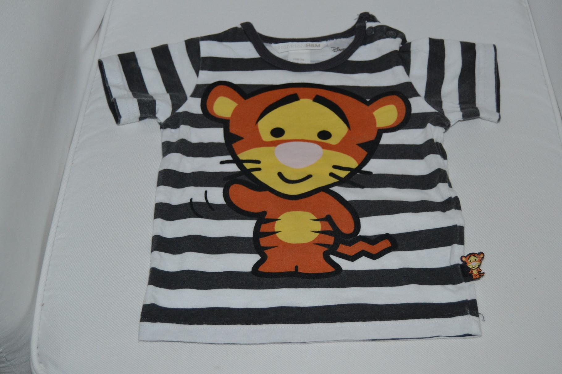 Tigger T-Shirt von H&M - Gr. 74 - 0,50 €