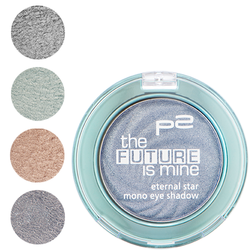 ★ETERNAL STAR Mono Eye Shadow★ 010 shadowy metal, 020 spacy turquoise, 030 virtually bronze und 040 supernaturally purple