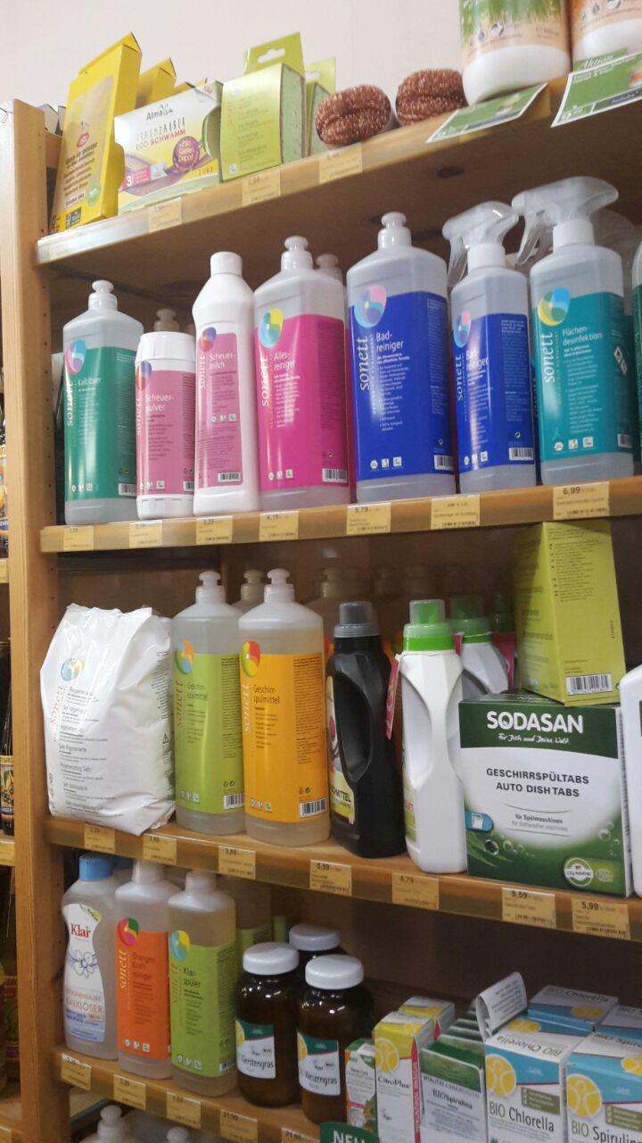 ökologische Putz- und Waschmittel