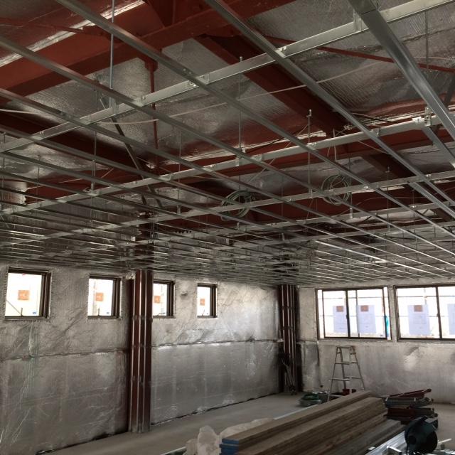 事務所:遮熱(屋根・壁・床)施工