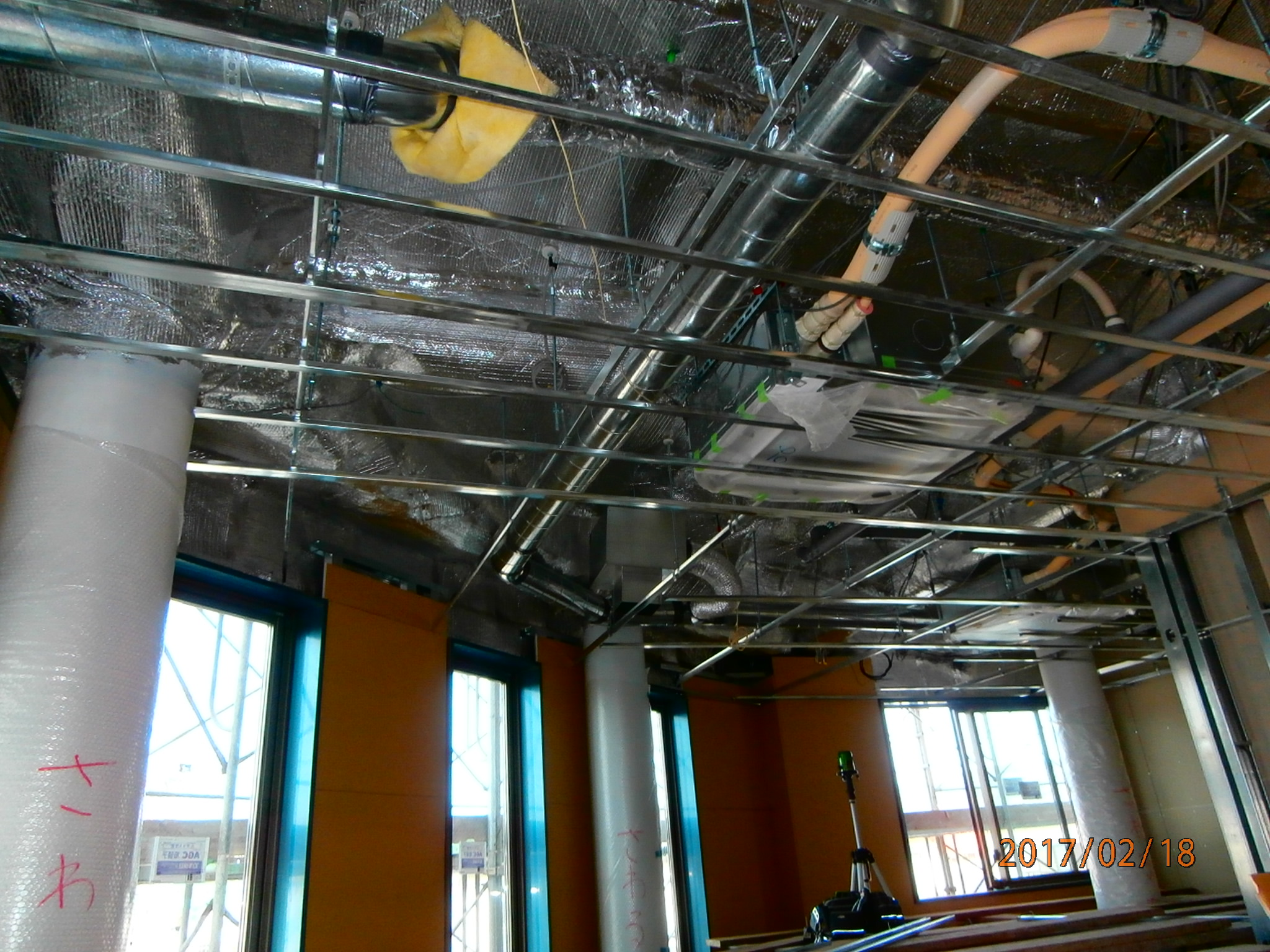 A保育園:遮熱(屋根・壁・床)施工