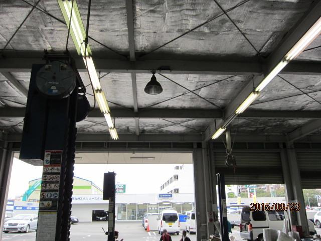 工場:屋根遮熱施工