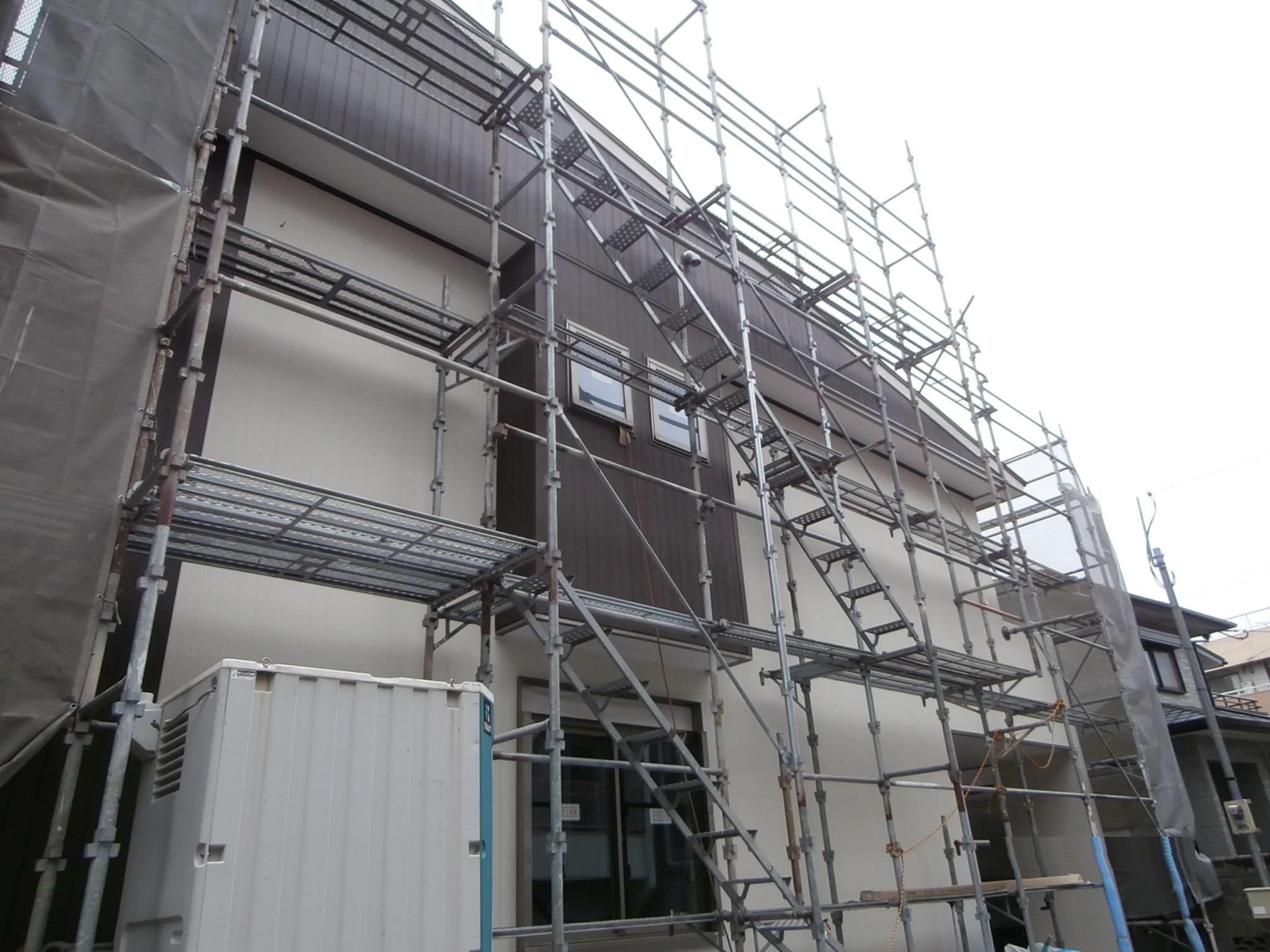 H邸:遮熱6面体(屋根・壁・床)施工