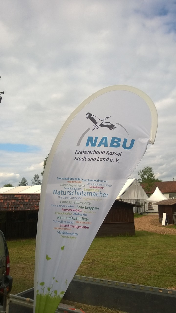 NABU Stand auf dem Hessentag 2015