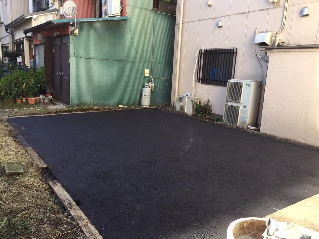 施工内容:舗装工・白線工