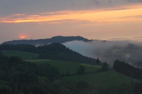 Schwarzwald, Blick ins Rheintal von Horben