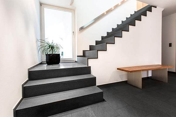 Hanser + Pfafferott - Boden- und Treppenbeläge aus Naturstein geben Ihnen jederzeit ein gutes Gefühl!