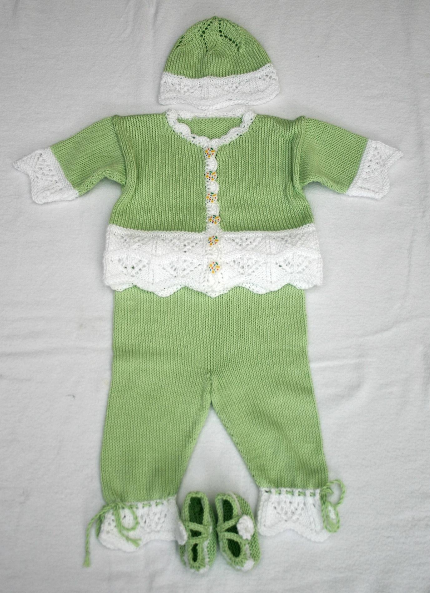 Babygarnitur, eigener Entwurf