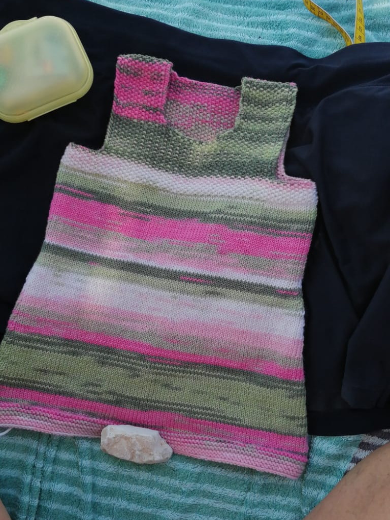 Baby-Hängerkleid, Katia Merino Baby Plus, Farbe 210