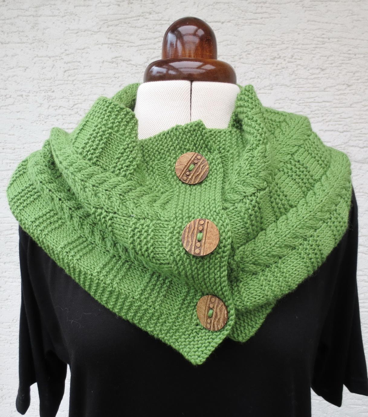 Pondhopper Schal, Muster nach einem Design von Alicia Plummer