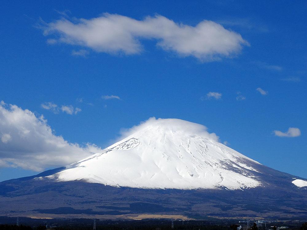 御殿場倶楽部から春の富士山をお届けします♪