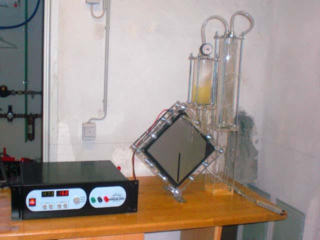 Roberts DryCell-Setup (hier ohne Heizung und Wärmetauscher)