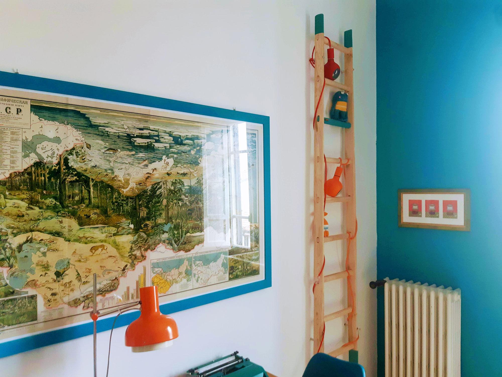 La scala è davvero ottima, il legno naturale ha un effetto molto bello e le lance colorate perfette, proprio come volevo. Grazie mille! - Lorenzo