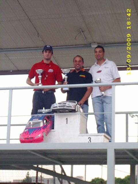 podio 1/5... 1° ARIOLI  2° CAMPANI  3° MARSALLA