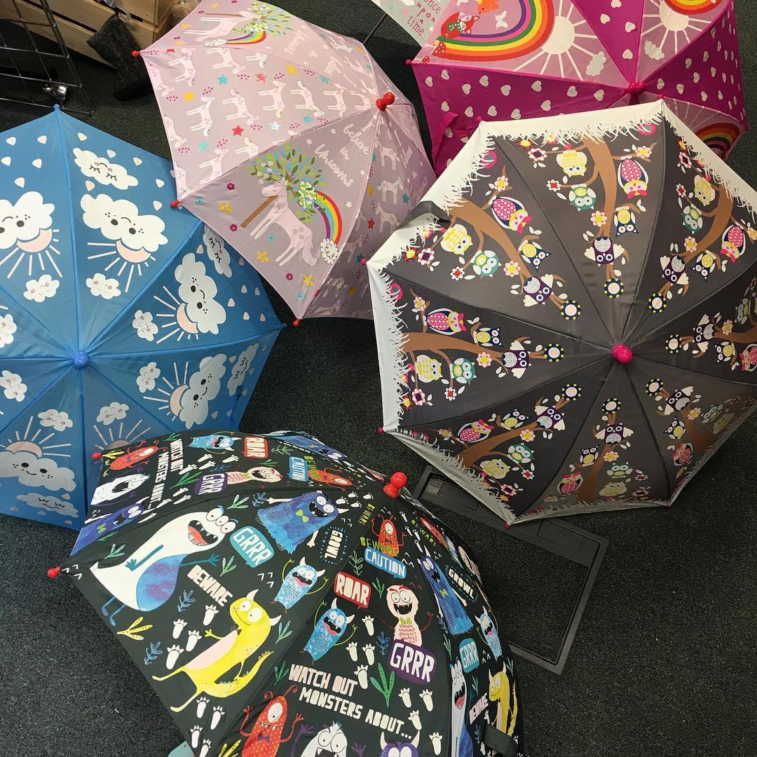 Parapluies magiques