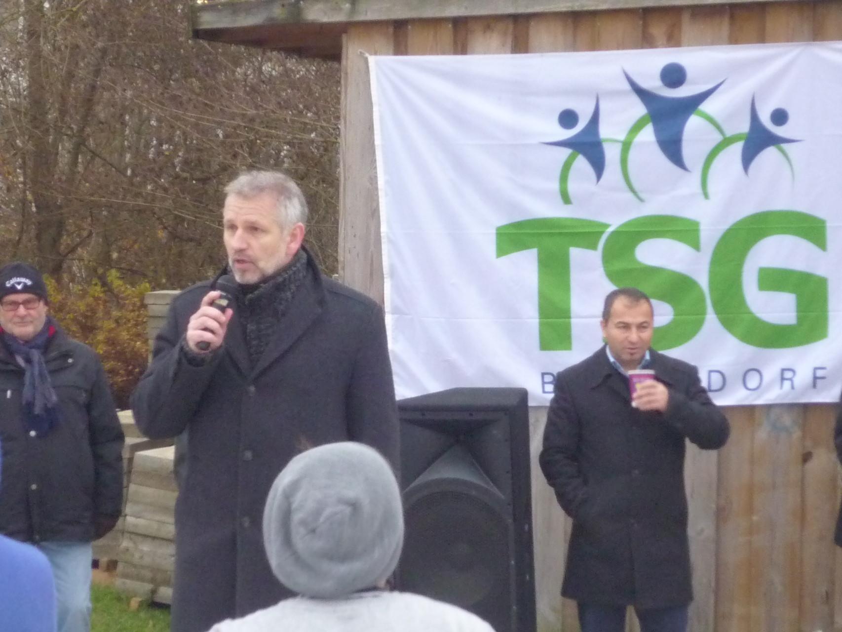 Thorsten Wetter, stellv. Vorsitzender TSG
