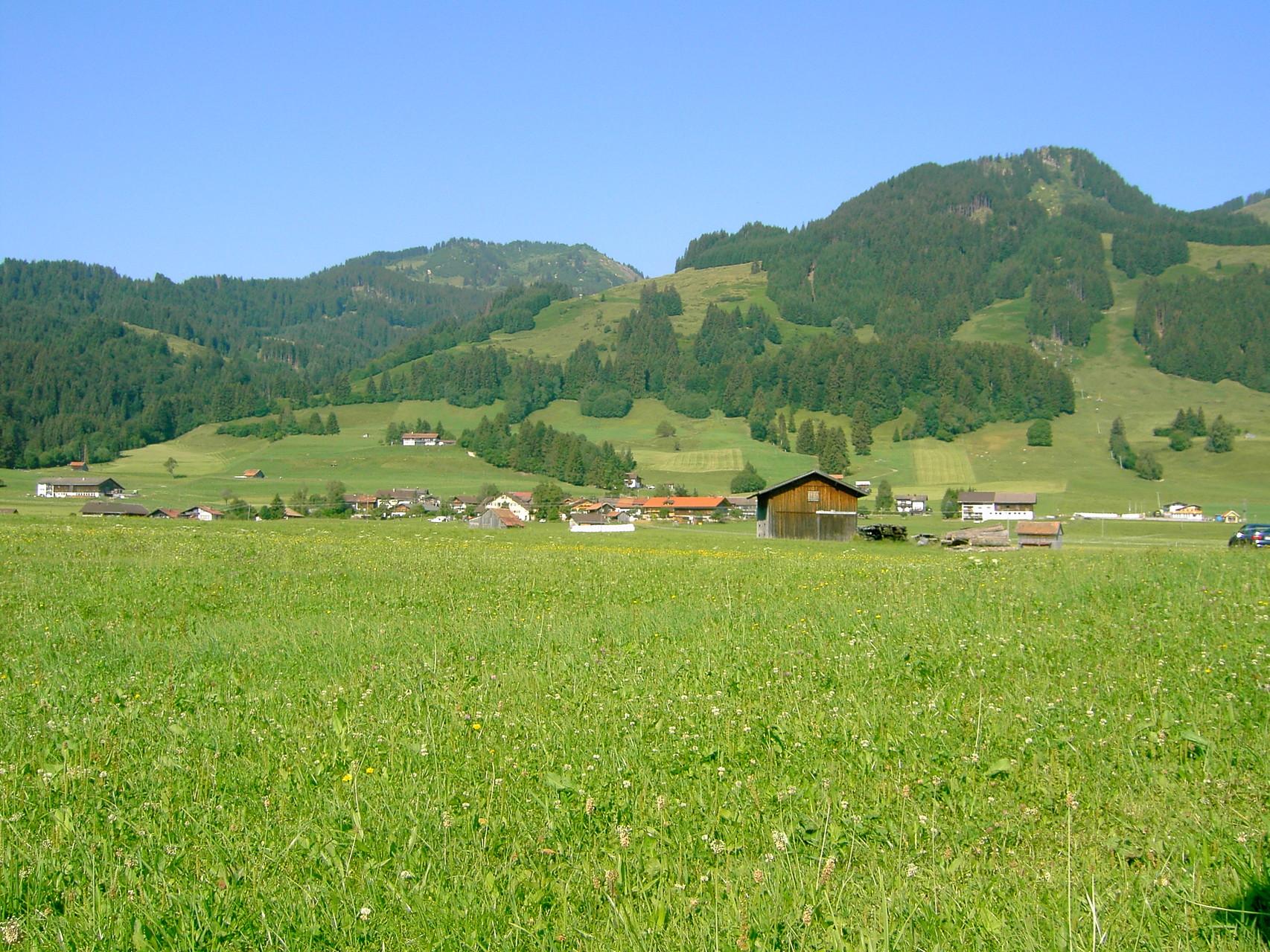 Sonderdorf im Oberallgäu