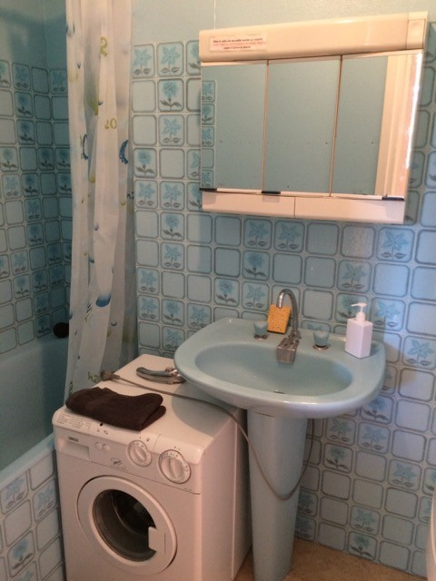 Salle de bain avant rénovation