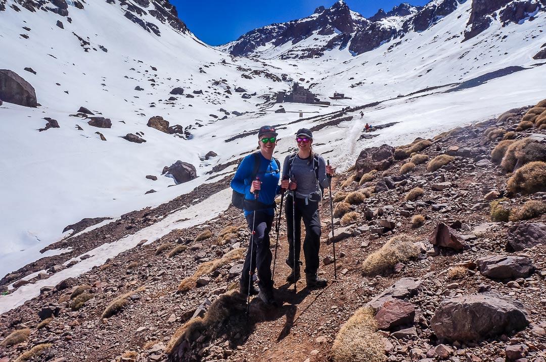 Wanderung im Atlas-Gebirge in Marokko