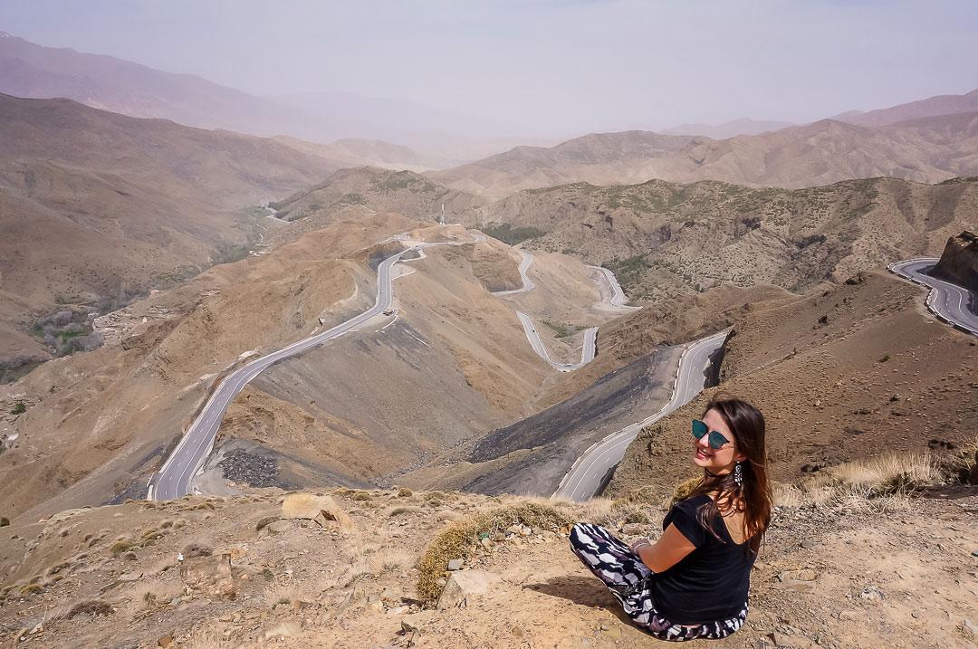 Straßen im Atlas Gebirge