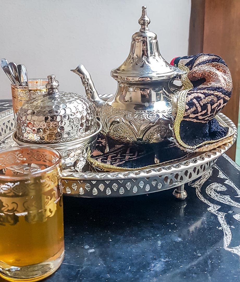 Minztee in Marrakesch