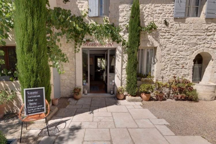 Restaurant-Tipp No. 2: Les Jardins de la Livrée in Villeneuve-les-Avignon