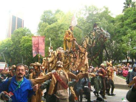 Títeres Garabatosos en el Desfile Bicentenario 2010 15