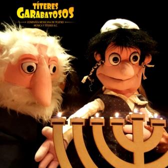 Januka Viejito y Niño Títeres Garabatosos
