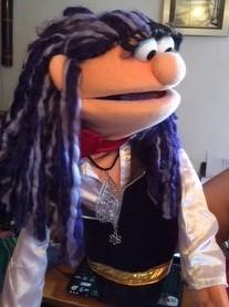 Chica Pirata 1 Titeres Garabatosos