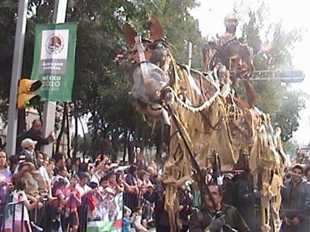 Títeres Garabatosos en el Desfile Bicentenario 2010 1