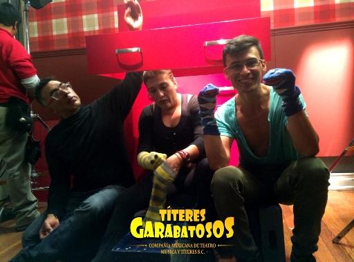 Titeres Garabatosos comercial Julio Regalado 2015
