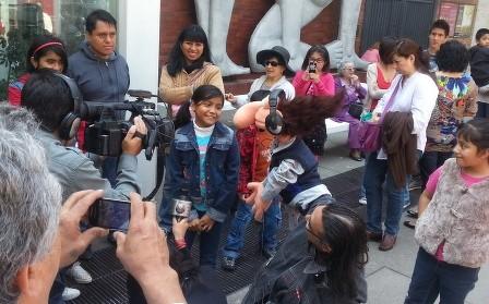 Títeres Garabatosos Grabación Milenio Notitas Puppets