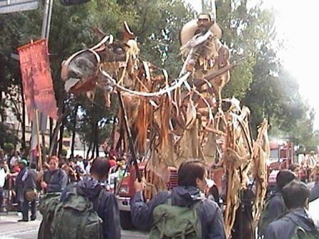 Títeres Garabatosos en el Desfile Bicentenario 2010 2
