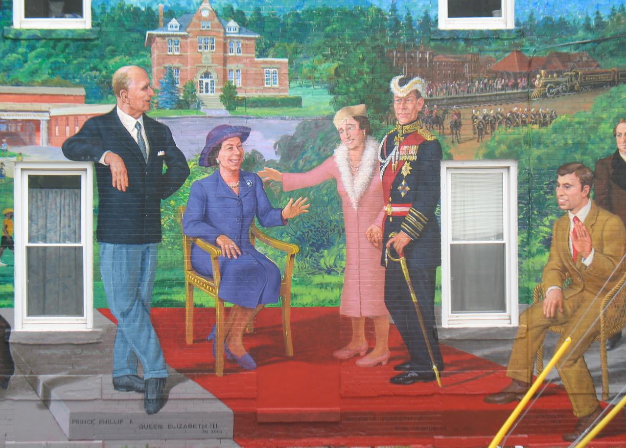 Sussex Mural, Sussex, Canada