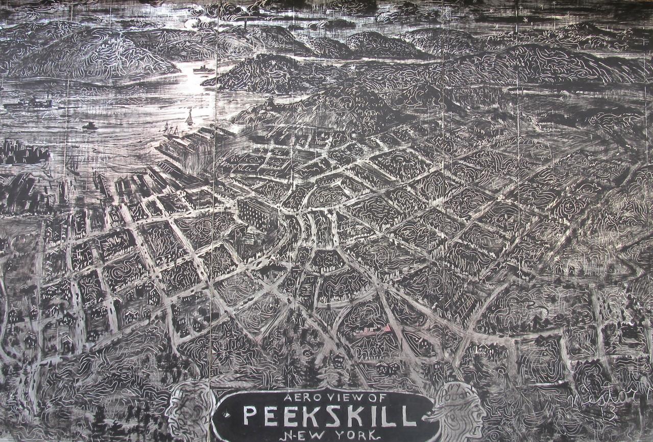Peekskill Mural Project, Peekskill, New York 2013
