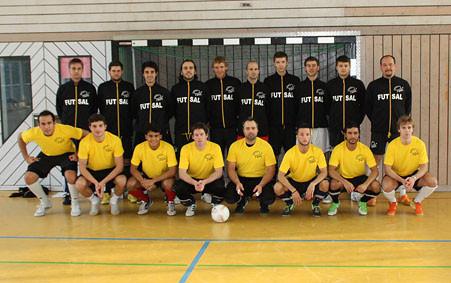 Futsalicious Essen e.V. die süddeutsche Futsal-Auswahl beim 4-Nationen-Turnier in Bern 2010
