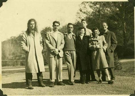 Lawrence Rothbort & Vegetarian Society Members - 1944