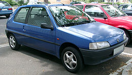 Fanale ant sx Peugeot 106