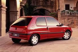 Peugeot 106 1991 gemma  posteriore