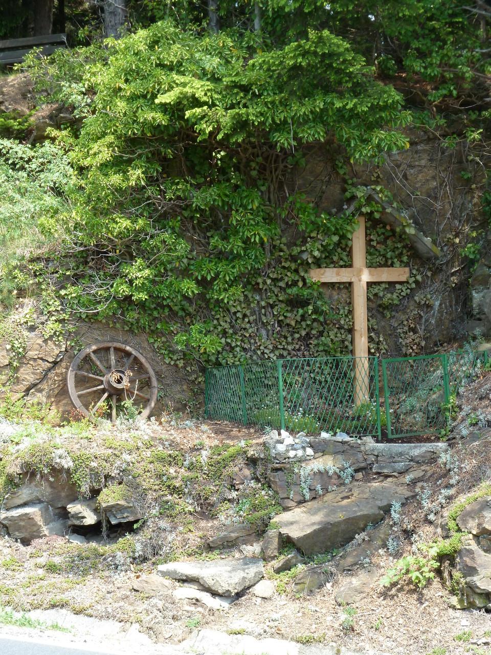 Ursprünglicher Standort des Edenbauerkreuzes