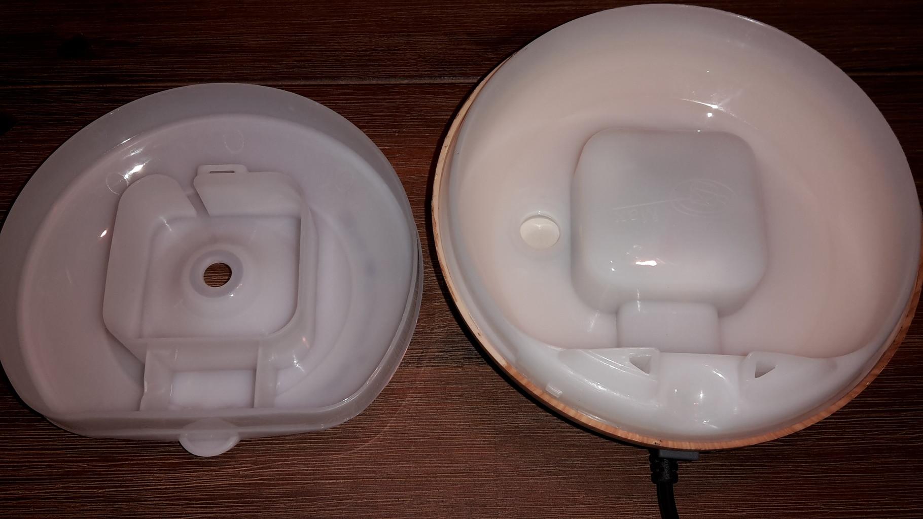 Geöffneter Wassertank