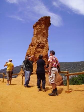 Des visites de sites naturels