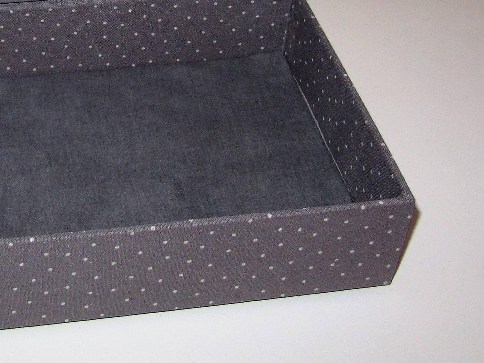 Schubladenkästchen - mit und ohne Fächer