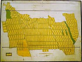 Gemeindsteile der Ortsgemeinde Gams - Gasenzen 1882
