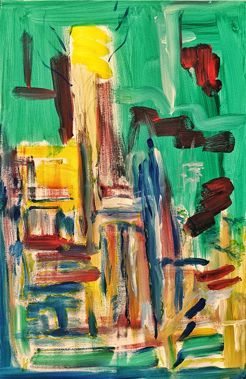 Art Bin, 75x115 cm.