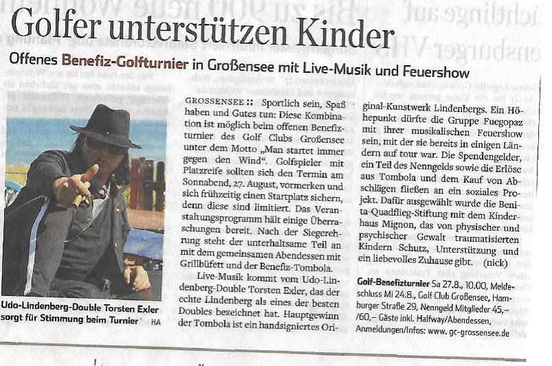Hamburger Abendblatt - Kreis Stormarn vom 20.7.2016